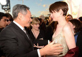 Ang Lee and Anne Hathaway