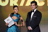 Nina Dobrev and Henry Cavill