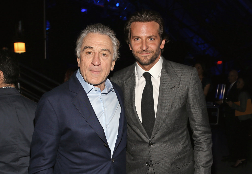 Robert De Niro and Bradley Cooper
