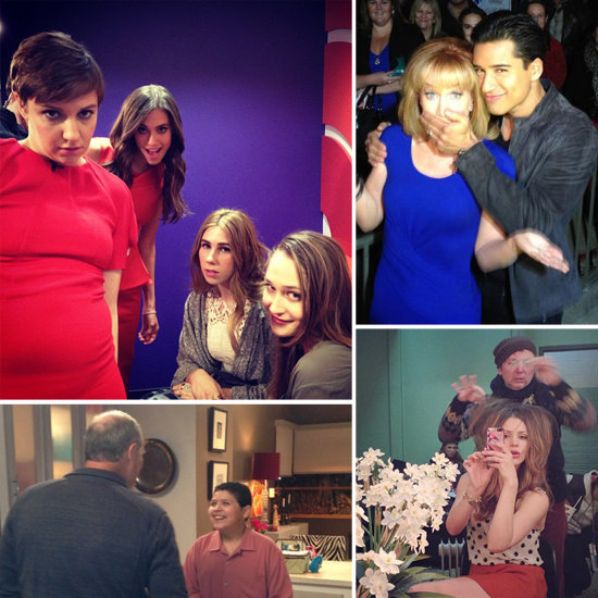 Behind-the-Scenes Pictures From Stars This Week