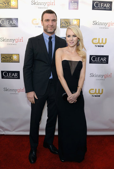 Naomi Watts and Liev Schreiber hit the red carpet together.