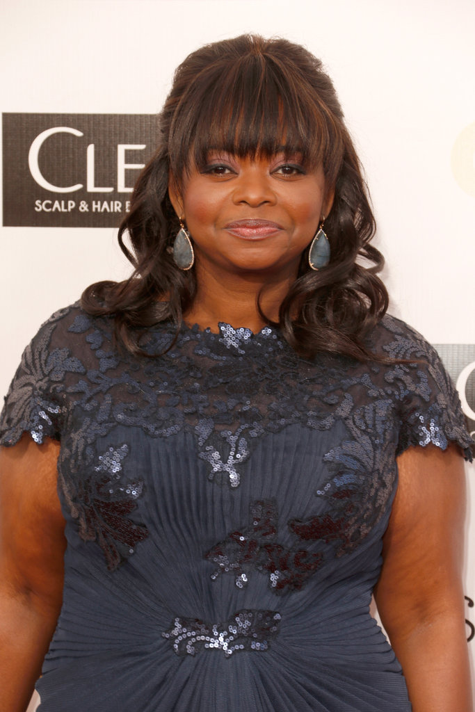 Octavia Spencer hit the red carpet at the Critics' Choice Awards.