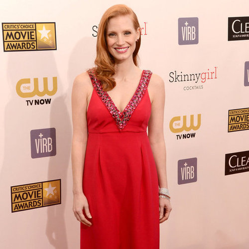 Jessica Chastain Pictures at 2013 Critics' Choice Awards