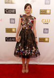 Marion Cotillard stepped out in a Zuhair Murad gown for the Critics' Choice Movie Awards.
