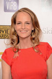 Helen Hunt had a smile on her face at the Critics' Choice Awards.