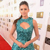 Nina Dobrev in Teal at Critics&#039; Choice Awards 2013