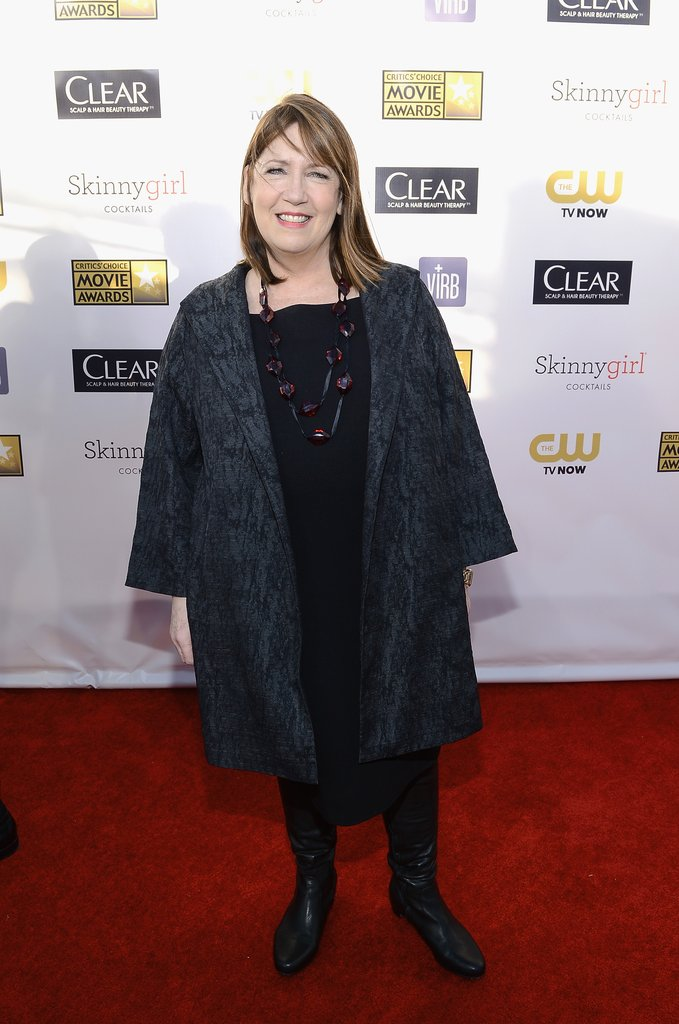 Ann Dowd hit the red carpet at the Critics' Choice Awards.