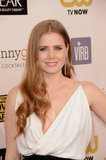 Amy Adams hit the red carpet at the Critics' Choice Awards.