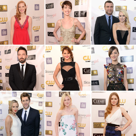 See All the Stars Arriving on the Critics' Choice Awards Red Carpet