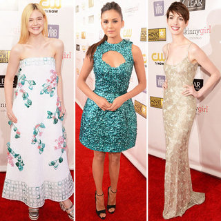 Sparkly Dresses at Critics' Choice Awards 2013