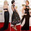 Critics&#039; Choice Awards Dresses With Cutouts