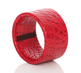 Use this Brahmin red leather bangle ($48) to add a major pop of color to any ensemble, especially a black-and-white one.