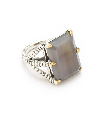 Elizabeth and James's bird claw ring ($150) will surely garner some envious stares.