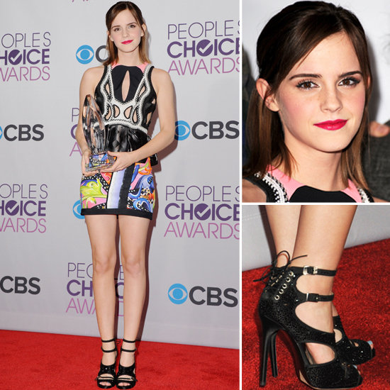 Emma Watson's People's Choice Awards Red Carpet Style
