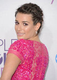 Lea Michele is Pretty in Pink Elie Saab for People's Choice Awards