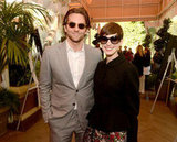 Bradley Cooper said hi to Anne Hathaway at the AFI Awards.