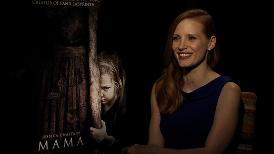 Video: Jessica Chastain Reveals Her Award Show Date