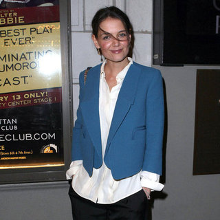 Katie Holmes Goes to See a Broadway Show | Pictures
