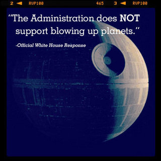 White House Response to Death Star Petition