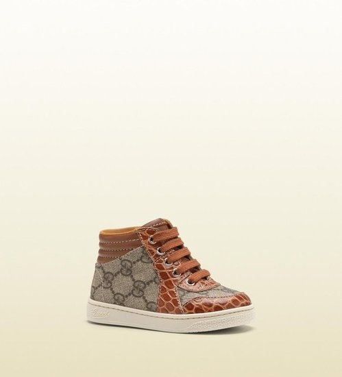 Gucci High-Top Lace-Up Sneaker