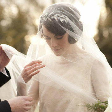 Downton Abbey Wedding Inspiration