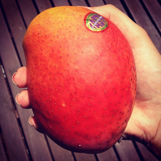Seriously, though. Is there anything better than a juicy, ripe mango in Summer? No.