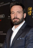 Ben Affleck was one of the last celebs to arrive.