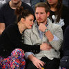 Drew Barrymore and Will Kopelman Kissing at Game Pictures