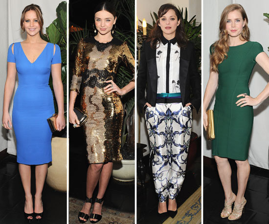 W Magazine Hosts a Fashionable Fete For the Golden Globes