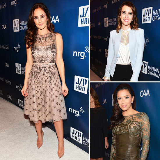 Eva Longoria, Emma Roberts, and More Dress Up For Help Haiti Home Gala