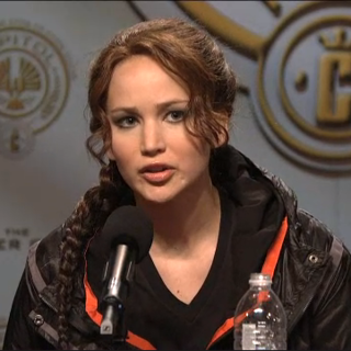 Jennifer Lawrence SNL Hunger Games Press Conference