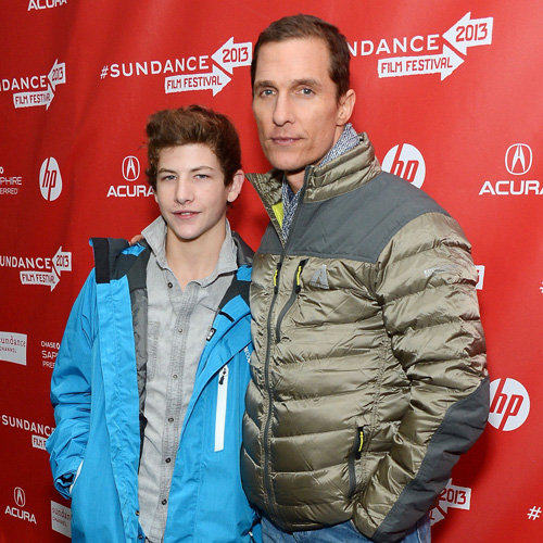 Matthew McConaughey Talks Lance Armstrong at Sundance