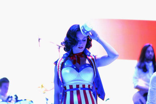 Katy Perry performed at the Kids' Inaugural concert.