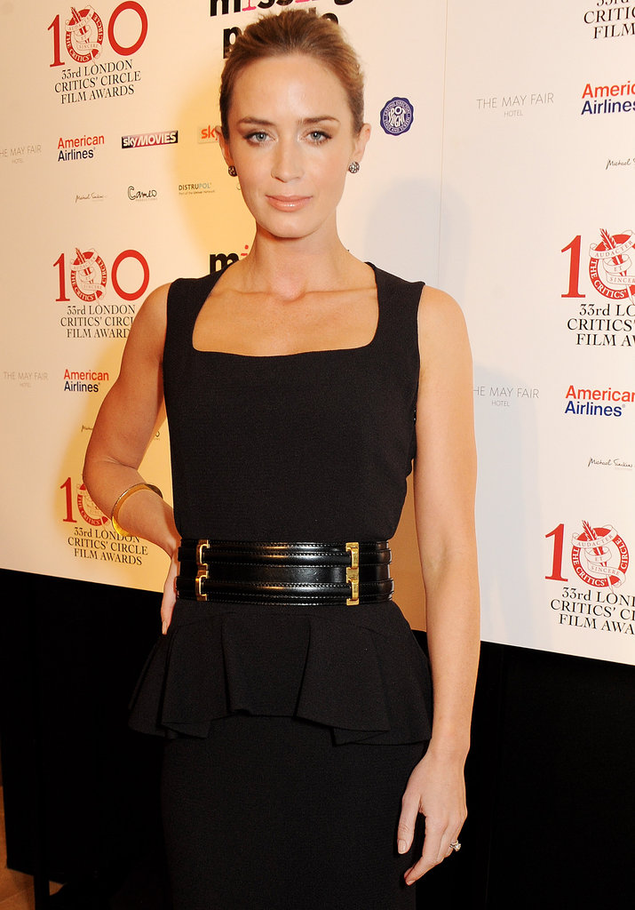 Emily Blunt was nominated at the London Film Critics' Circle Awards.
