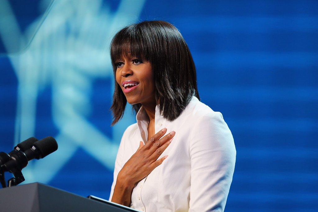 Michelle Obama spoke about how the Kids' Inaugural concert is her favorite moment of the weekend.
