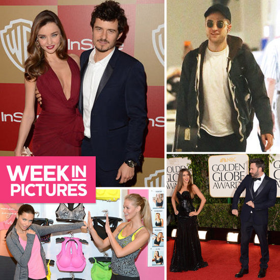 The Week in Pictures: Miranda & Orlando, Robert in Oz, The Golden Globes & More