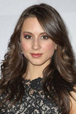 Troian Bellisario looked gorgeous at the NBC after party.