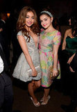 Modern Family stars Ariel Winter and Sarah Hyland attended the Fox after party.