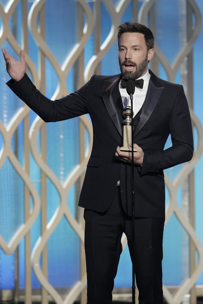 Ben Affleck wore a three-piece tux.