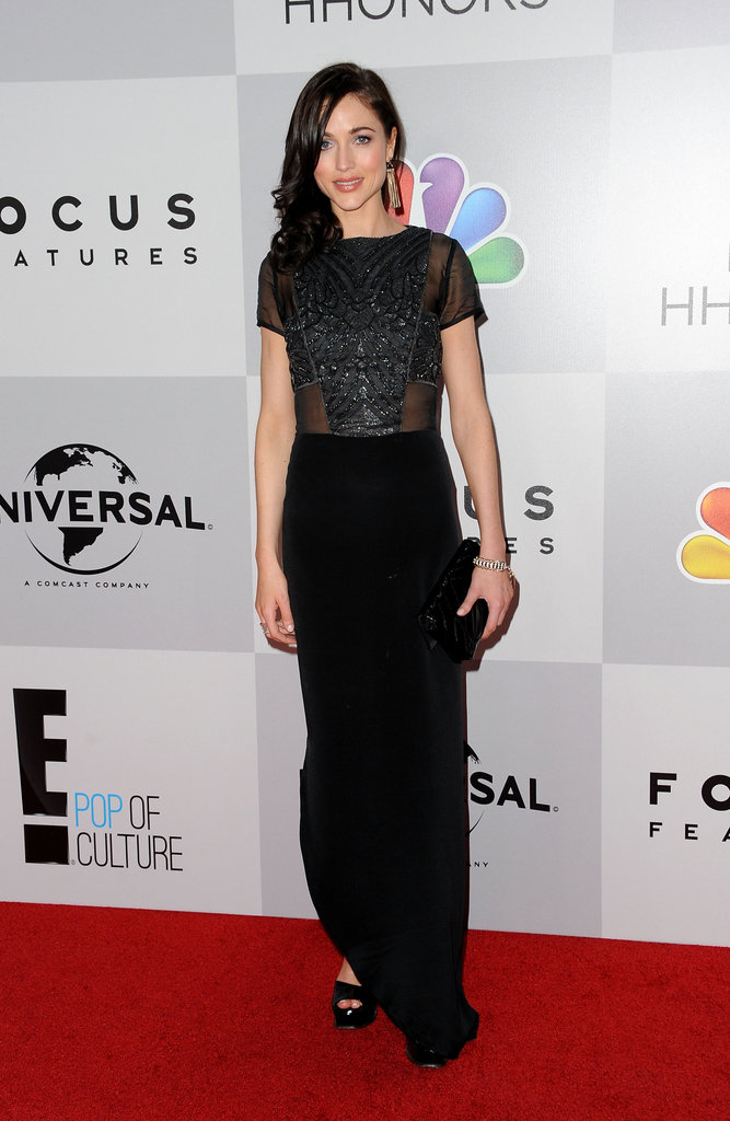 Natasha Prince arrived at the NBC after party.