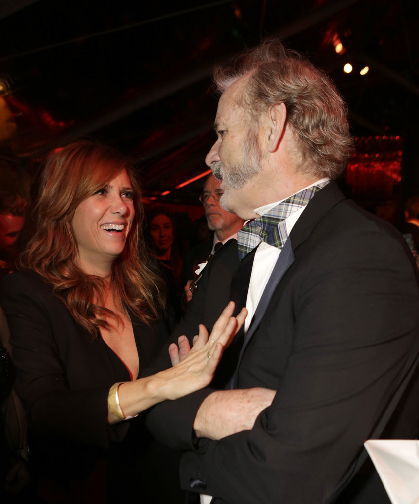 Kristen Wiig goofed around with Bill Murray.