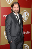 Nikolaj Coster-Waldau smiled at the 2013 InStyle after party.