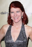 Office actress Kate Flannery shined at the Golden Globe afterparty.