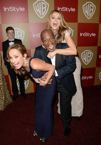 Al Roker, Maria Menounos, and Giada De Laurentils joked around.