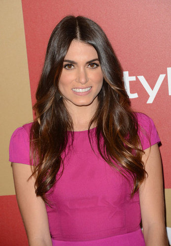 Nikki Reed wore hot pink.