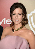 Kate Beckinsale wore a collar necklace.