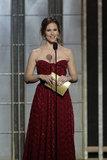 Jennifer Garner presented at the Golden Globes.