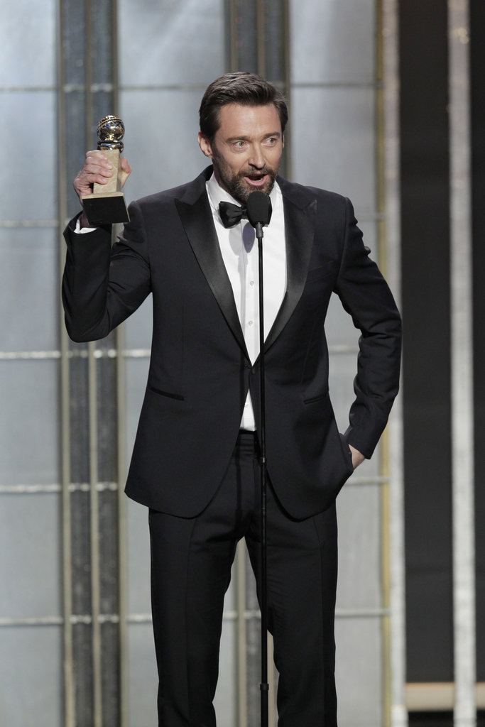 Hugh Jackman won the Golden Globe for best actor.