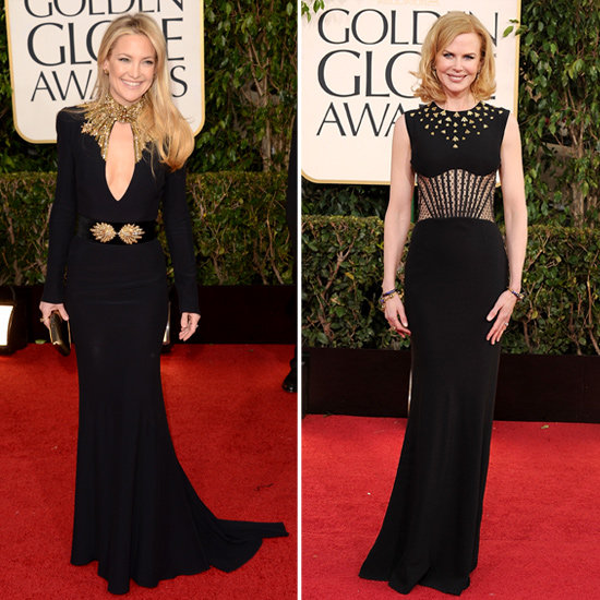 Seeing Double at the Golden Globes: Who Wore These Designers Best?