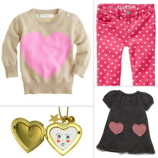 9 Modern Heart Finds For Your Little Valentine